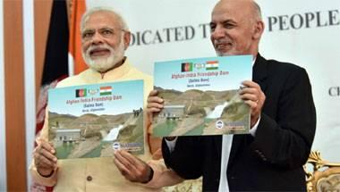 Narendra Modi, India-Afghanistan ties, Salma Dam