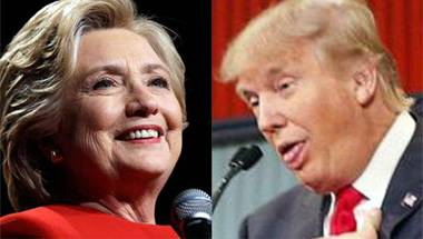Hillary Clinton, Donald Trump, US Presidential Election