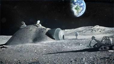 Mars, Moon, Space