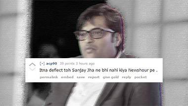 Republic TV, Reddit, Arnab Goswami
