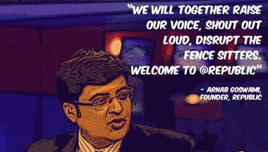 Lutyens' Delhi, Transparency, Republic TV, Arnab Goswami