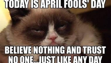 Fake news, April Fools' Day