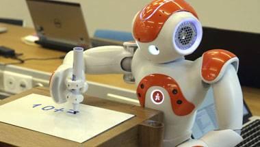 Students, Robots, IIT-Bombay