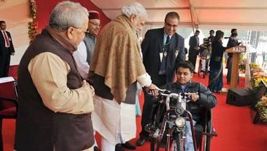 PM Narendra Modi, Divyang, Physically challenged, Wheelchair