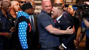 Colin McGregor, Floyd Mayweather, Boxing