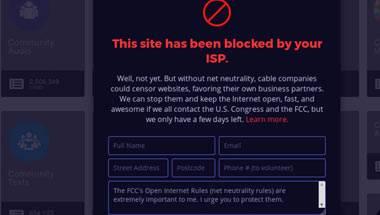 World Wide Web, Free Basics, Net Neutrality
