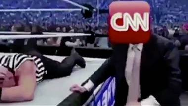 Wrestling, Propaganda, Fake news, Liberal Media