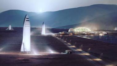 Big Rocket, Tesla, SpaceX, Mars
