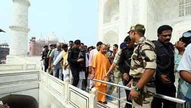 Tourism, BJP, Yogi Adityanath, Taj Mahal visit