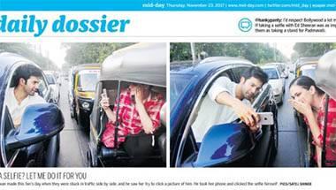 Traffic rules, Varun Dhawan, Selfie, Mumbai Police