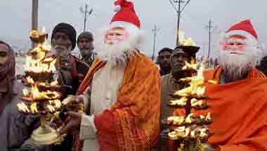 Forced conversions, Hindutva, Christianity in India, Christmas