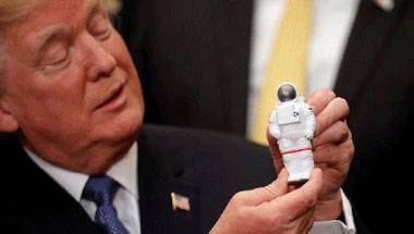 China, NASA, Mars mission, Donald Trump