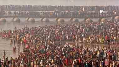 Ganga, Dying rivers, Kumbh logo, Kumbh 2019