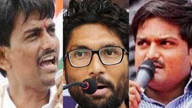 Kanhaiya Kumar, Hardik Patel, Jignesh Mevani, Youth politics