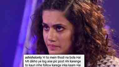 Taapsee Pannu, Slut-shaming, Cyber bullying, Trolling
