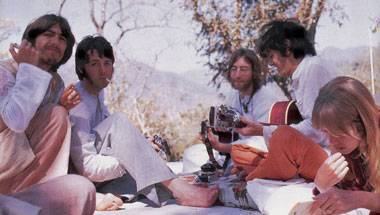 Rishikesh ashram, Maharishi Mahesh Yogi, The Beatles in India