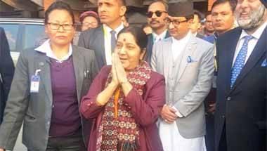 Prachanda, KP Oli, Sushma Swaraj, India-Nepal ties