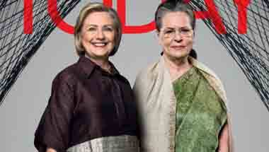 Sonia Gandhi, Hillary Clinton, India Today, India Today Conclave 2018