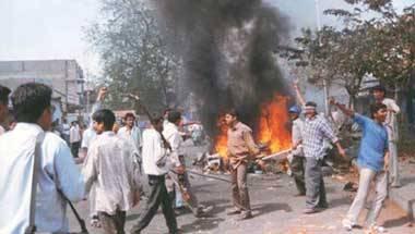 Narendra Modi, Godhra, 2002 Gujarat riots, Ncert
