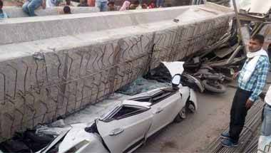 Varanasi flyover collapse, PM Modi, Yogi Adityanath, Smart city