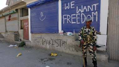 Narendra Modi, Letter of accession, Sheikh Abdullah, Kashmir crisis