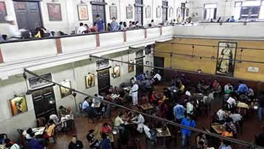 Naxal movement, Coffee board, College Street, Indian coffee house