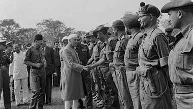 Defence, Jawaharlal Nehru, Indian Army, 1962 Sino-India War