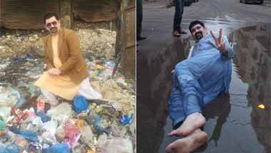 Modi, Garbage dump, Unique campaign ideas, Pakistan election campaign
