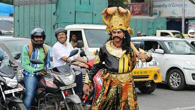 Bengaluru, God of death, Yamaraja, Traffic rules