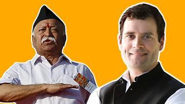 Soft-hindutva, Rahul Gandhi, Congress, RSS