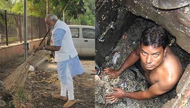 Sanitation workers, Gandhi Jayanti, Manual scavenging, Swachh Bharat Abhiyan