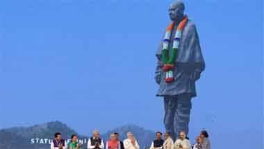 Mayawati, PM Modi, Sardar Patel, Statue of Unity