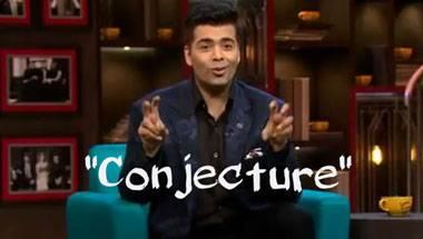 Bollywood, Nepotism, Conjecture, Karan Johar