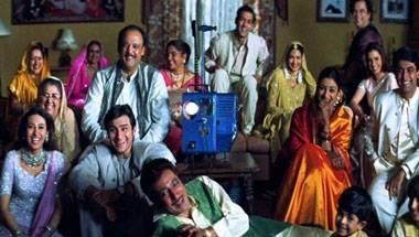 Alok Nath, Karisma kapoor, Saif Ali Khan, Salman Khan