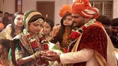Hardik Patel, Patel agitation, Wedding
