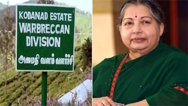 Tamil nadu politics, Jayalalithaa, Kodanad burglary and murder, Kodanad estate