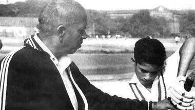 শিবাজী পার্ক, ভারতীয় ক্রিকেট, রমাকান্ত আচরেকর