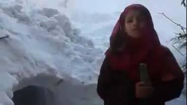 Twitter, Snowfall in kashmir, Shopian, Kashmir