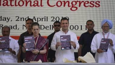 2019 general elections, Rahul Gandhi, Congress, Congress manifesto