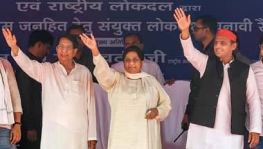 Ajit Singh, Akhilesh Yadav, Mayawati, SP-BSP alliance