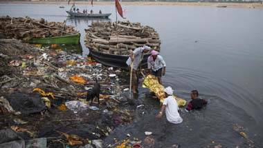 Water scarcity, Air Pollution, Namami Gange, Pollution