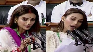 Internet trolls, Tmc mp, Oath taking ceremony, Lok sabha session