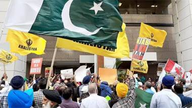Hard kaur khalistan movement, Hard kaur protest in london, Khalistan protest in london, Khalistan movement