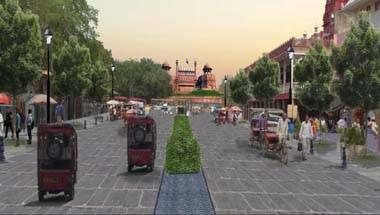 Delhi Government, Fatehpuri masjid, Red fort, Chandni chowk