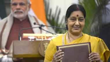 Sushma swaraj death, Narendra Modi, Sushma Swaraj