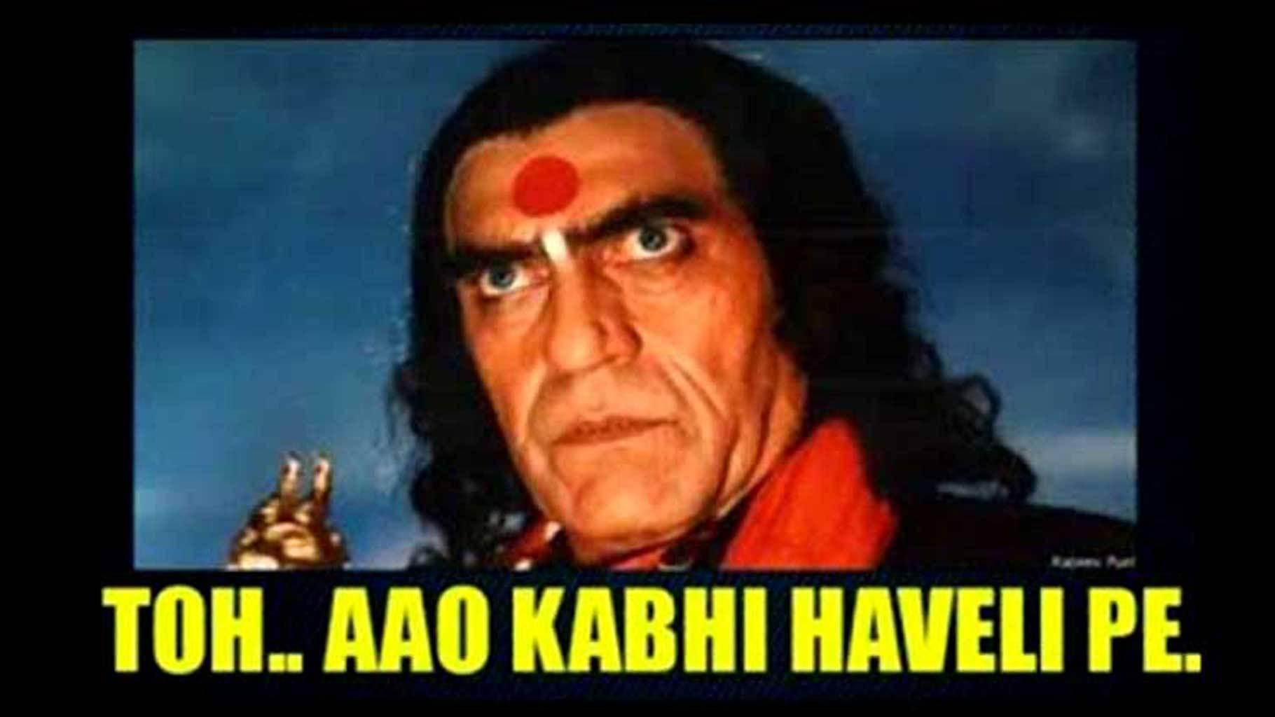 How 'Aao kabhi haveli pe' immortalises Amrish Puri