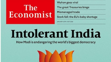 Where is the objectivity in The Economist's editorial on 'Intolerant India'?