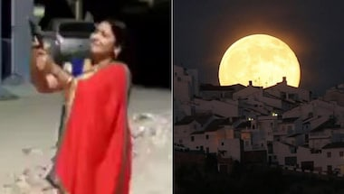 DailyOh! When PM asked for diya and BJP leader responded with katta, to why it is a pink supermoon