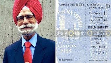A true nationalist hero: Balbir Singh Senior and the 1948 London Olympic Gold