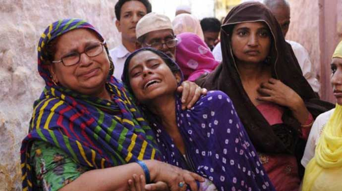 After Mohammad Akhlaq was killed, his bereaved family was booked for cow slaughter.